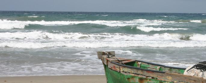 ホンジュラスのビーチ