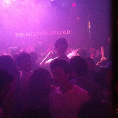 クラブの中