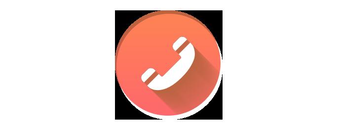 完成した電話アイコン