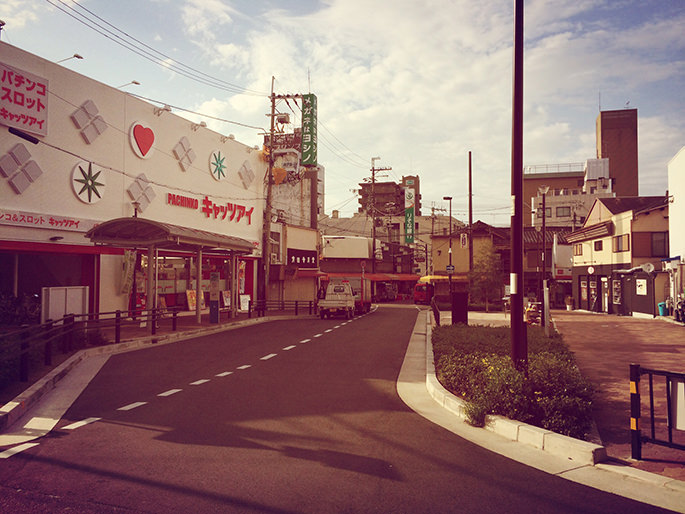 泉佐野駅前