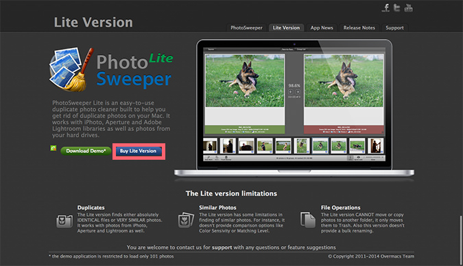 photo sweeper