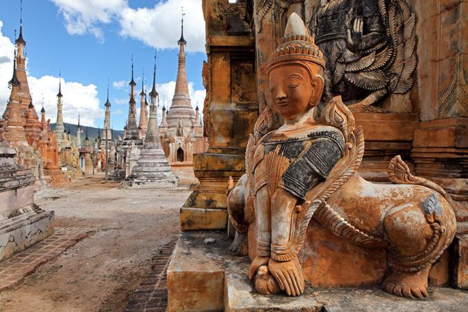 ミャンマーのビザがオンラインで申請できるようになったみたい