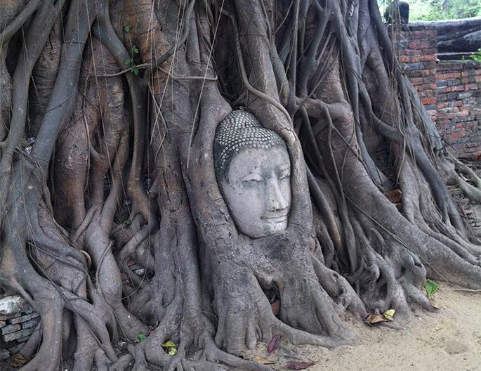 アユタヤの仏像