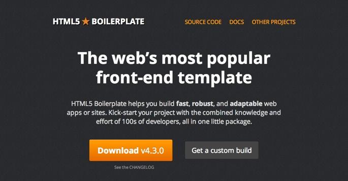 Th html5 boilerplate