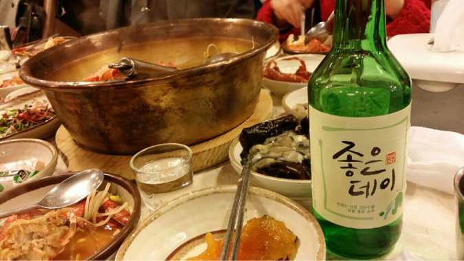 釜山限定の焼酎