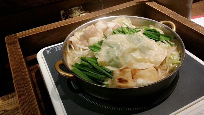 白味噌モツ鍋