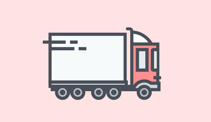 便利な配送サービス