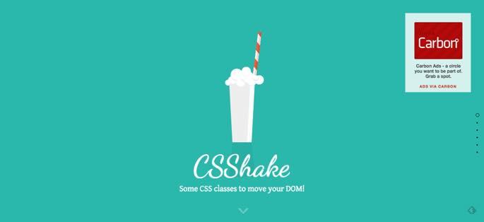 css shake
