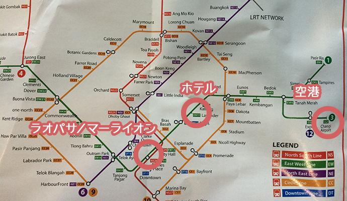 MRT 路線図