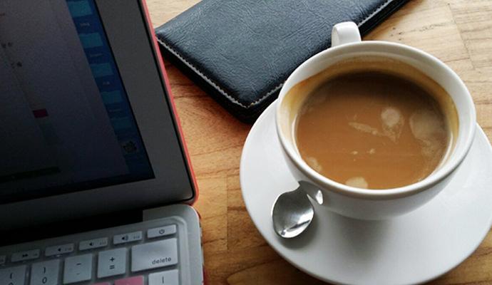 濃厚なコーヒー