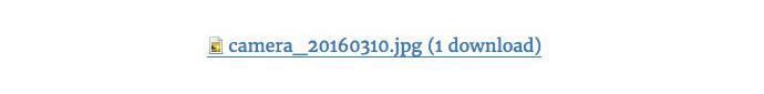 ファイル名とダウンロード数