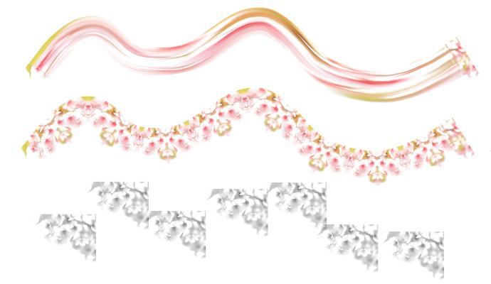 桜のブラシ
