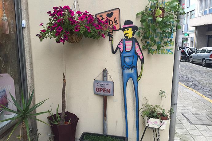 花屋のアート