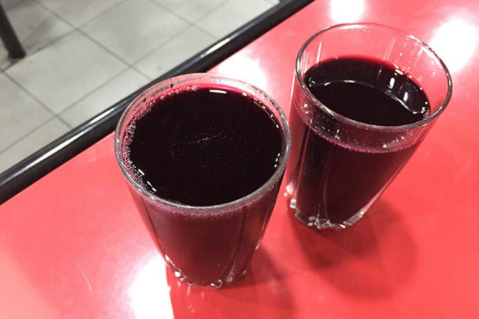 発泡系の赤ワイン