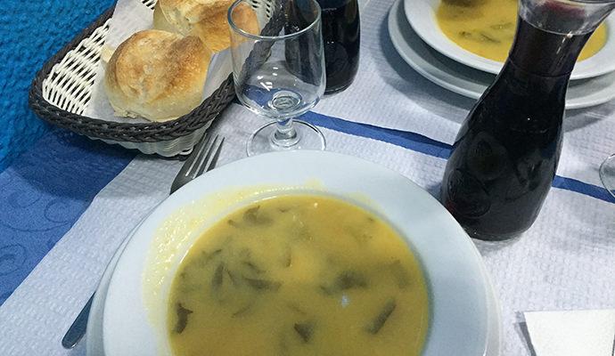 スープとワイン