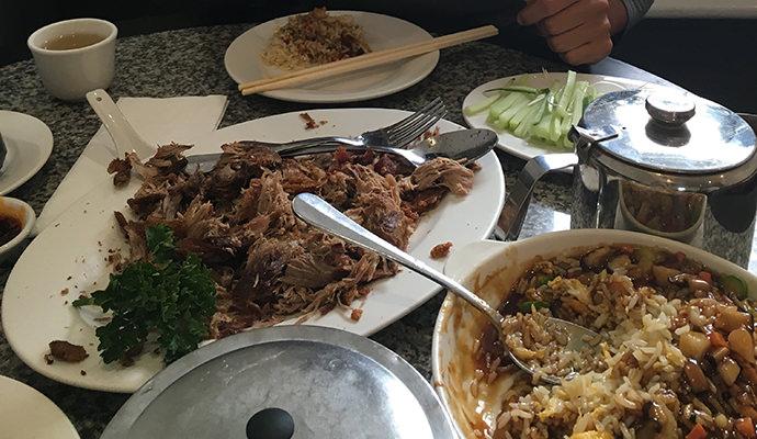 ロンドン中華料理