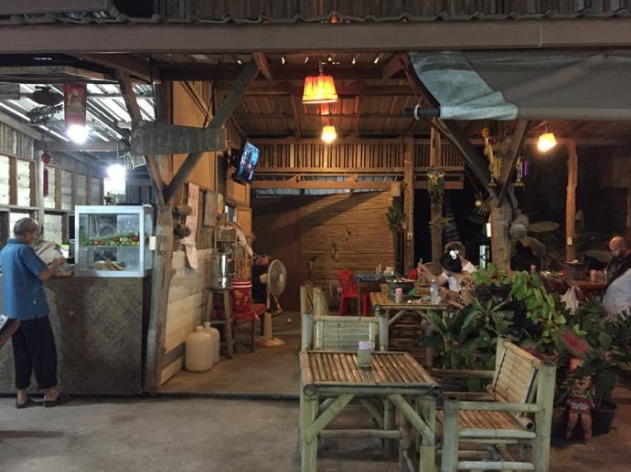 イサン地方のレストラン