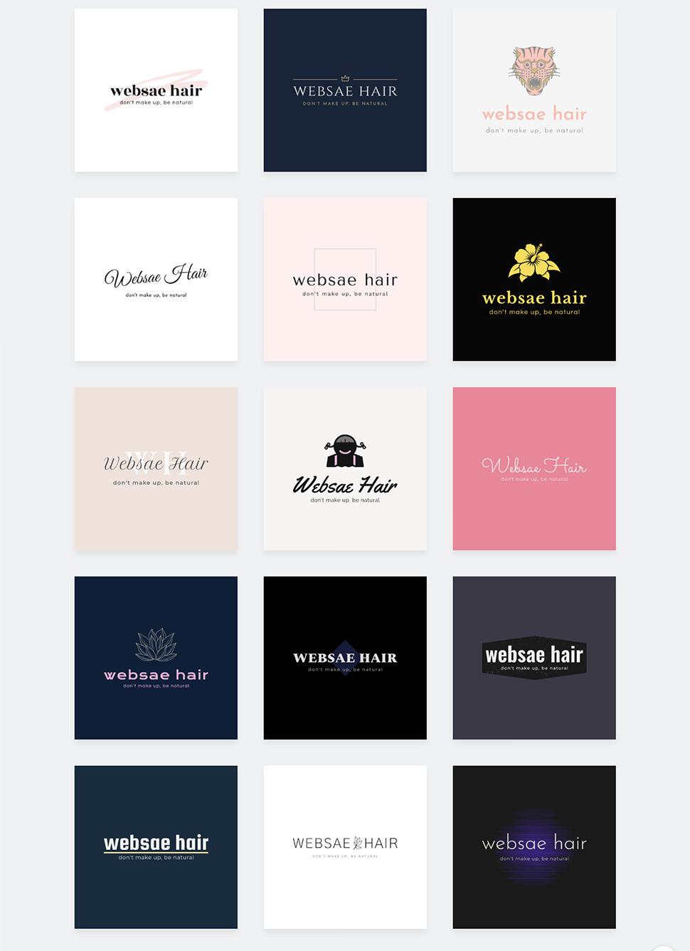 どのロゴを選ぶ?