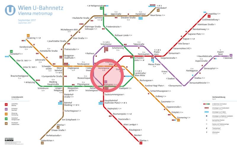 ウィーン路線図