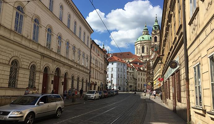 プラハのストリート