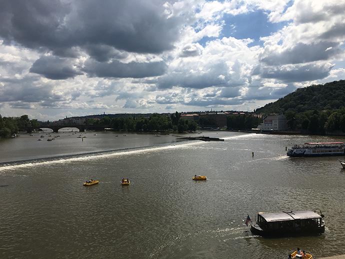 プラハの川