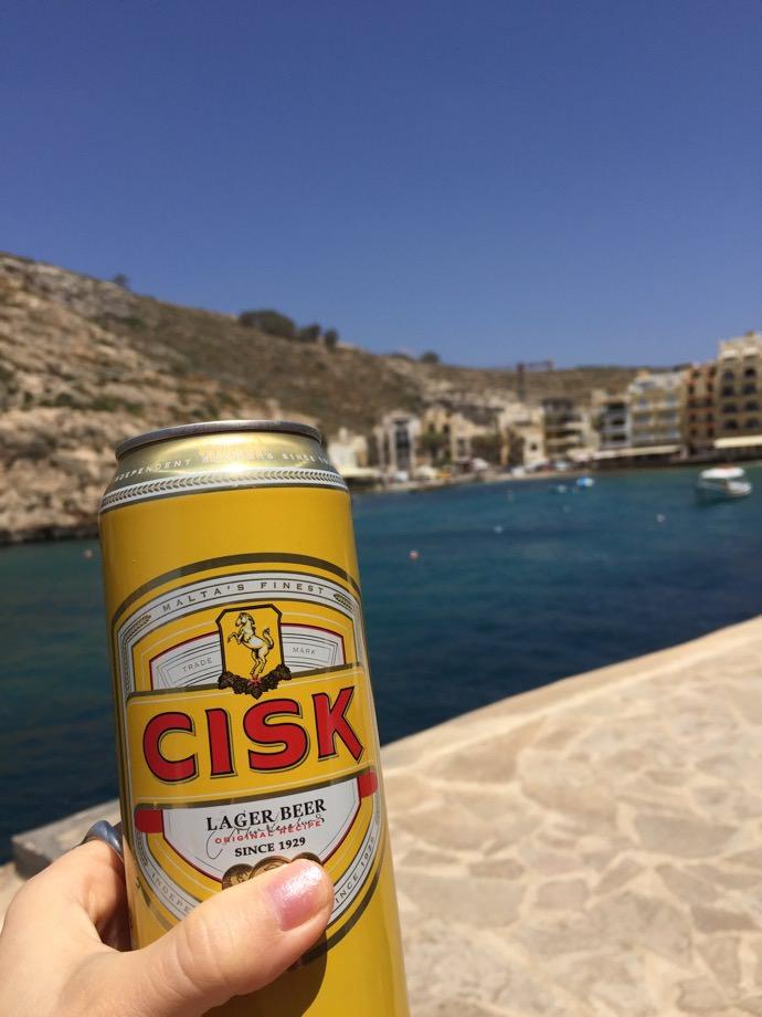 cisk マルタの地ビール