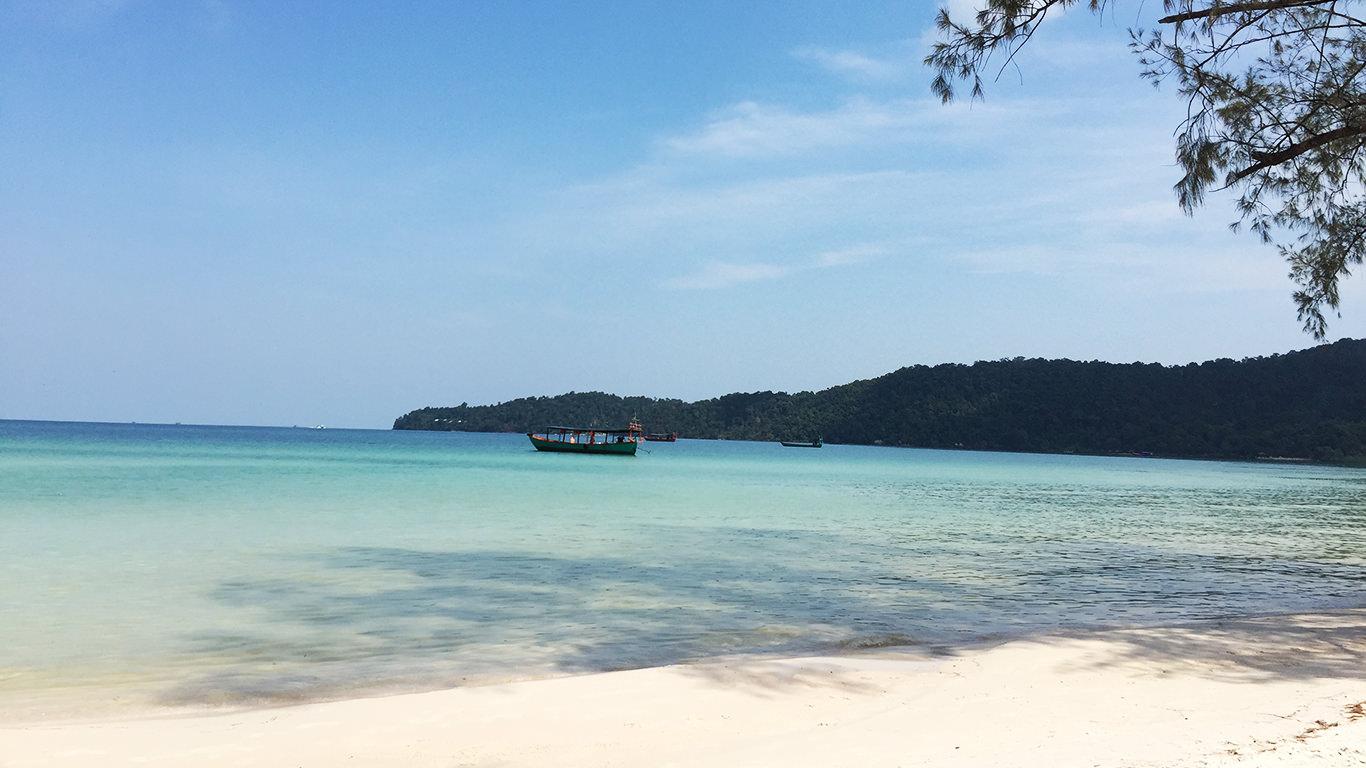 美しいビーチ