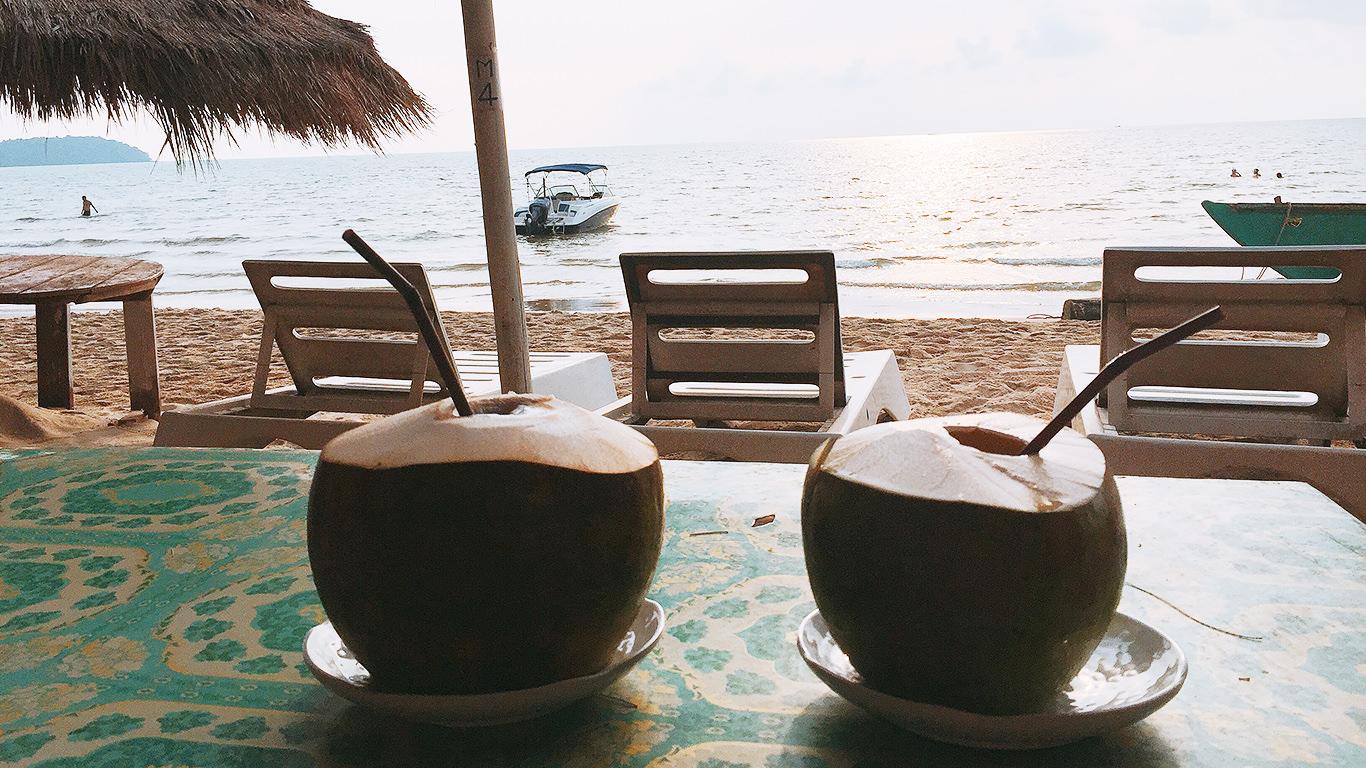 ココナッツオンザビーチ