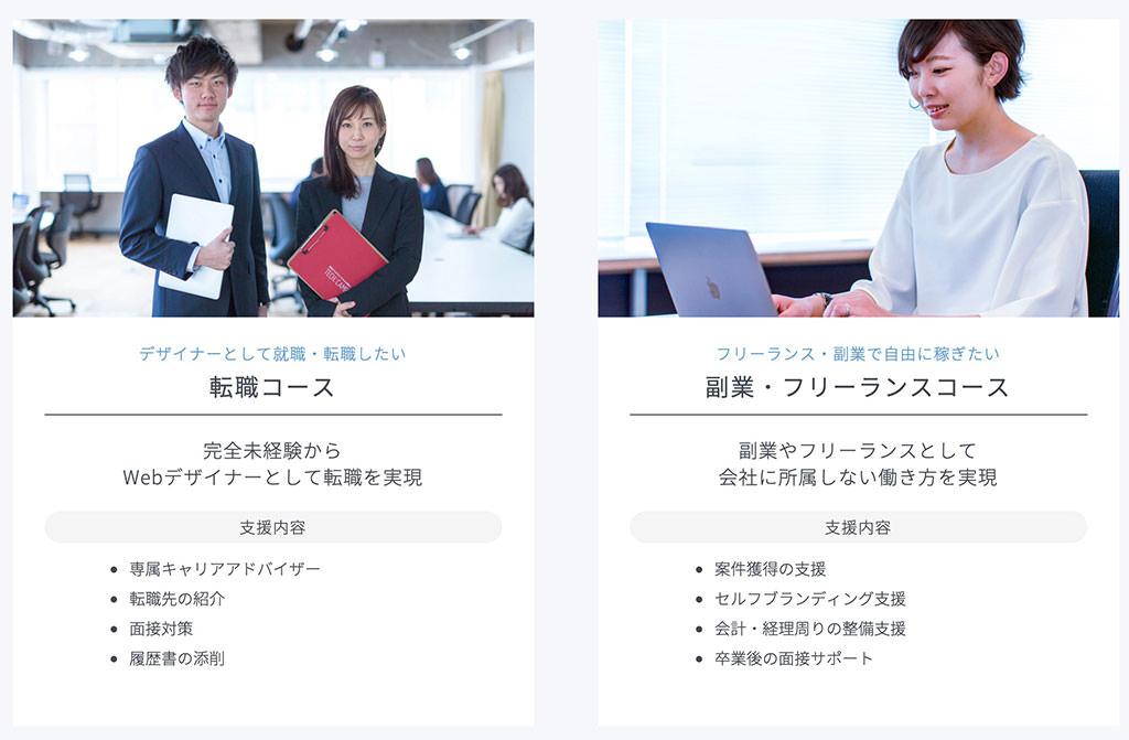 転職コース/副業・フリーランスコース